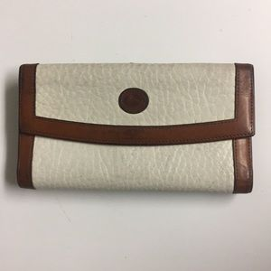 Dooney & Bourke Pebbled Leather Trifold Wallet